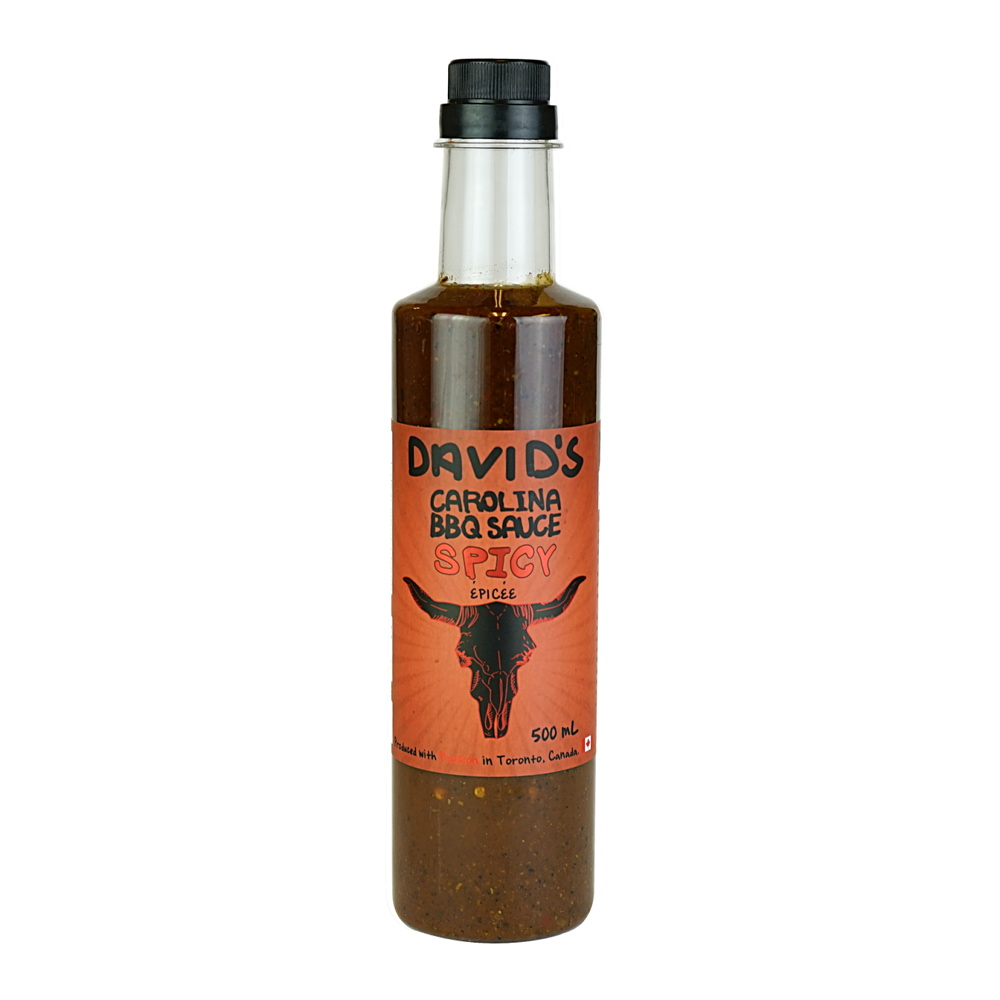 Spicy Carolina BBQ Sauce 500 ml Davids
