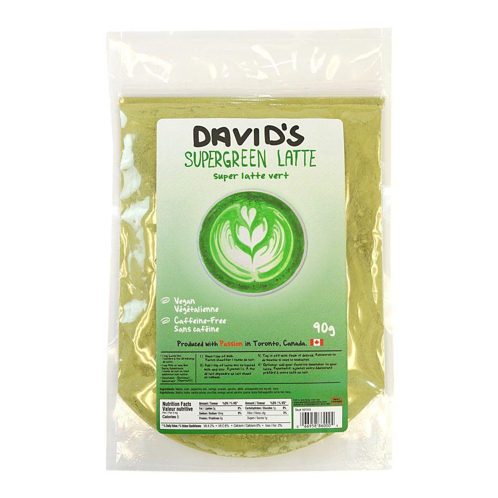 [187310] SuperGreen Latte Blend 90 g Davids