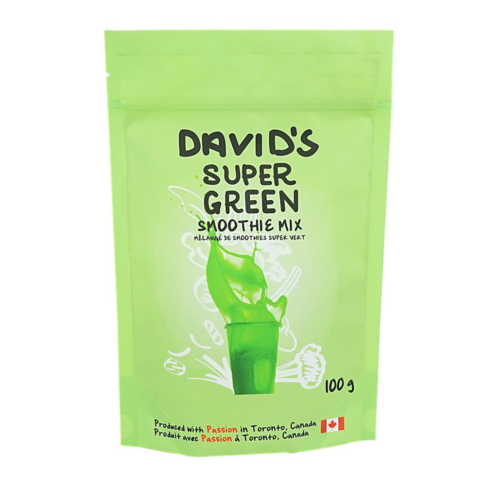 [187325] Super Green Smoothie Mix 100 g Davids