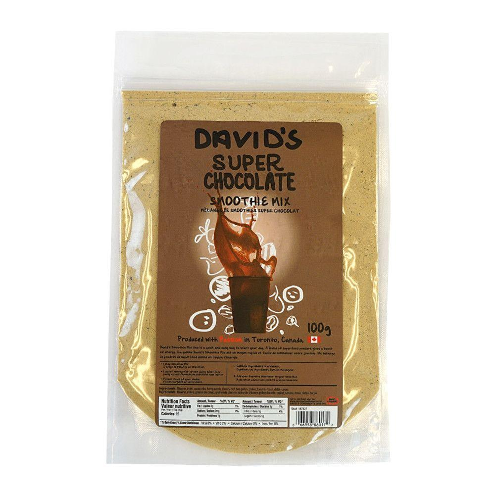 [187327] Chocolate Smoothie Mix 100 g Davids
