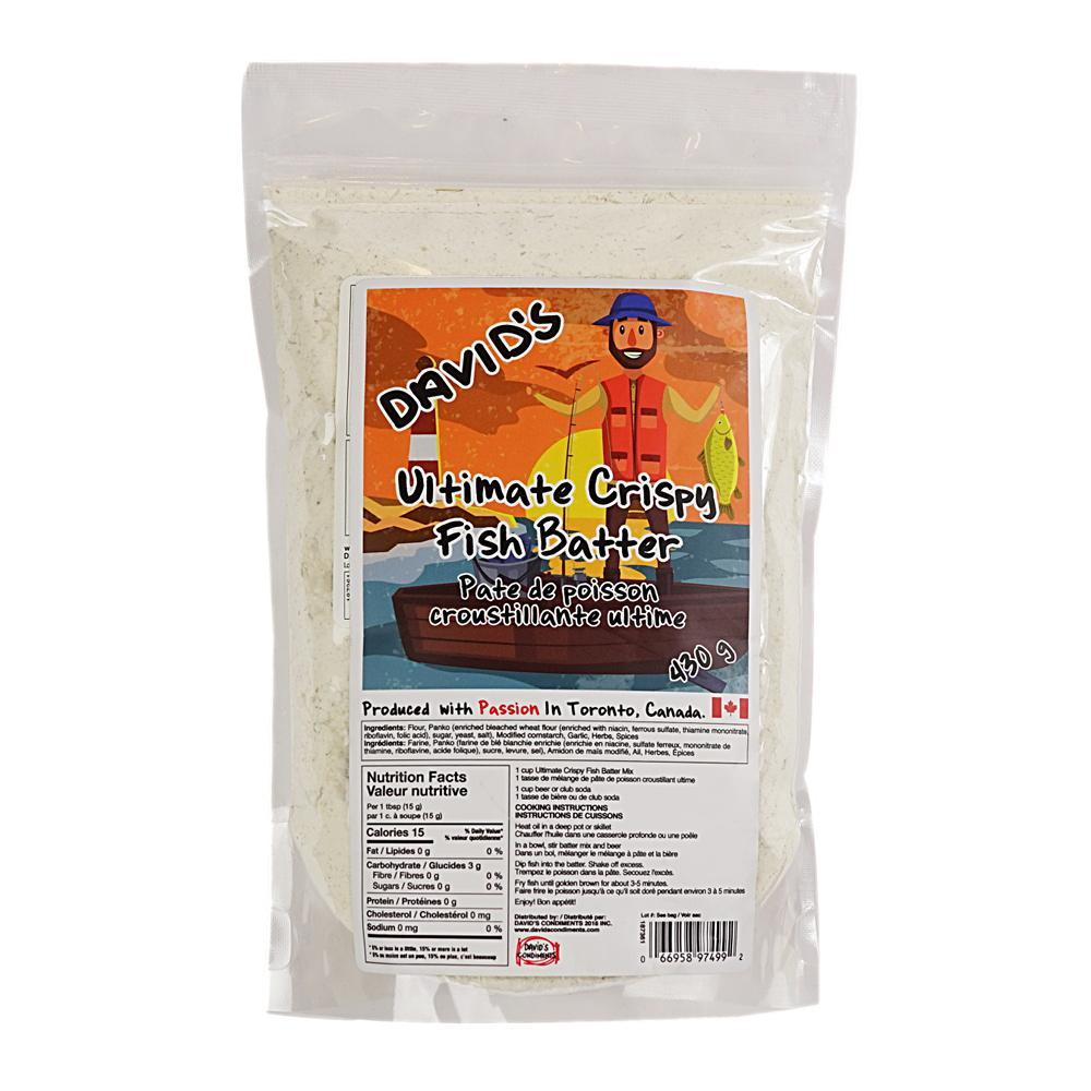 [187361] Ultimate Crispy Fish Batter 430 g Davids