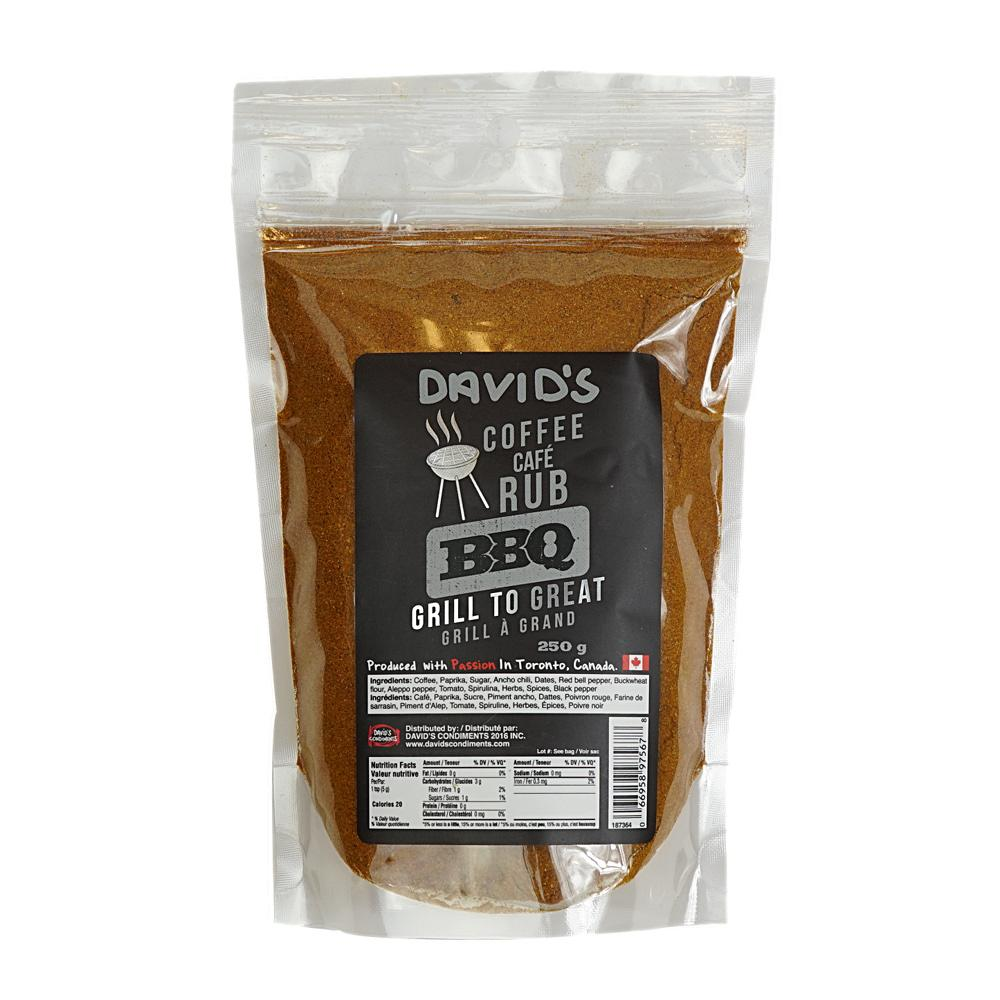 [187364] Coffee Rub 250 g Davids