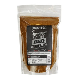 [187365] Ancho Honey Lemon Rub 250 g Davids
