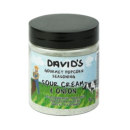 [187371] Sour Cream & Onion Popcorn Seasoning 70 g Davids