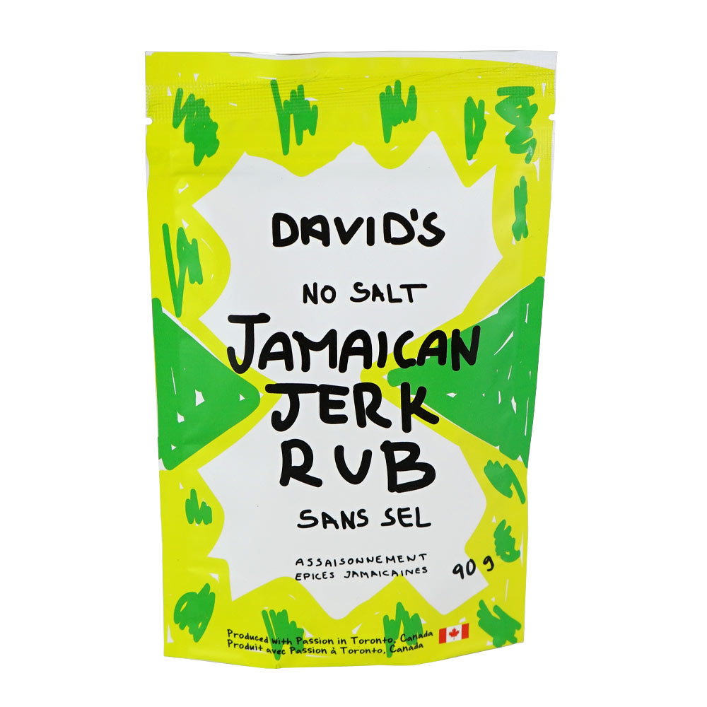 [187000] Jamaican Jerk Rub Plastic Bottle 90 g Davids