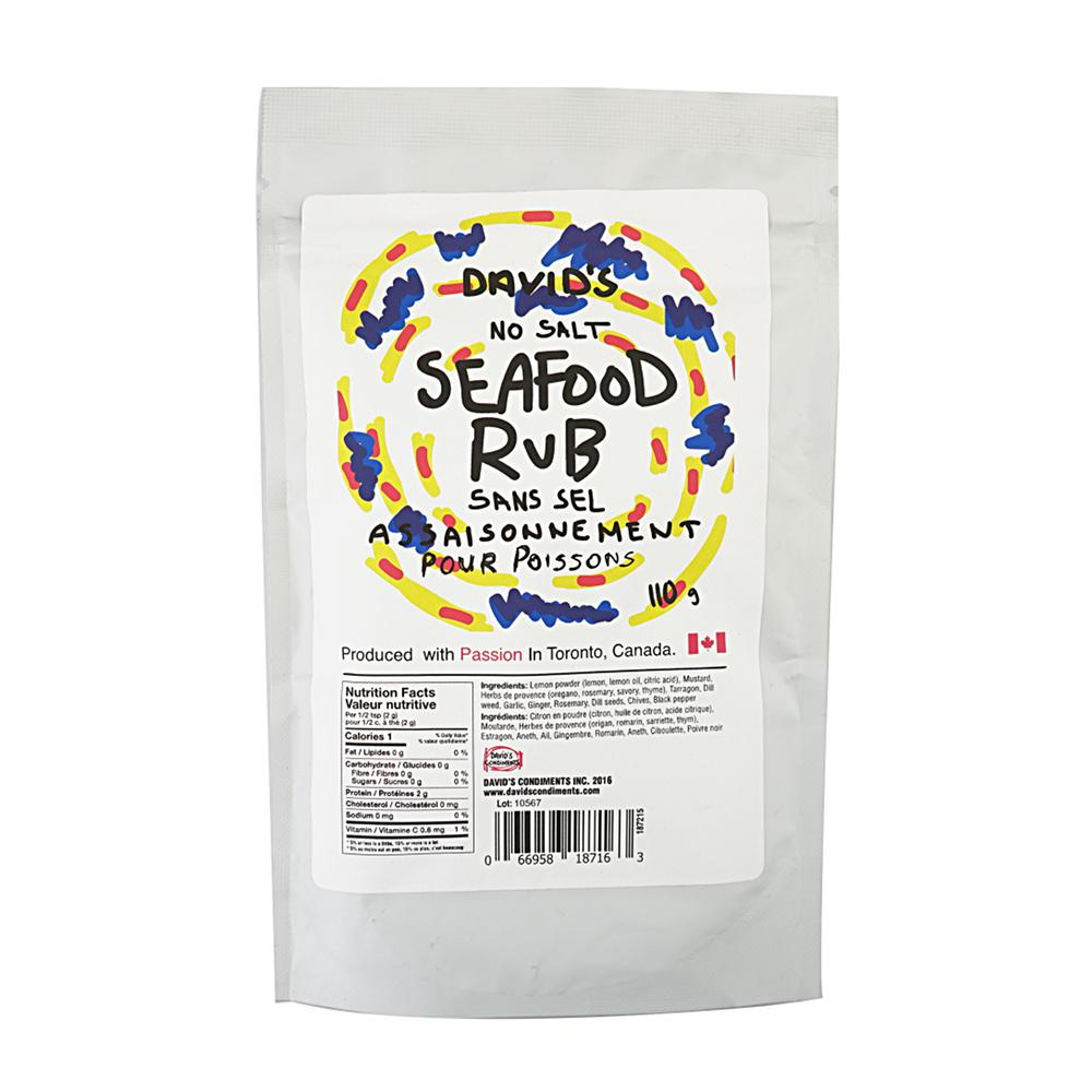 [187016] Seafood Rub Plastic Bottle 110 g Davids