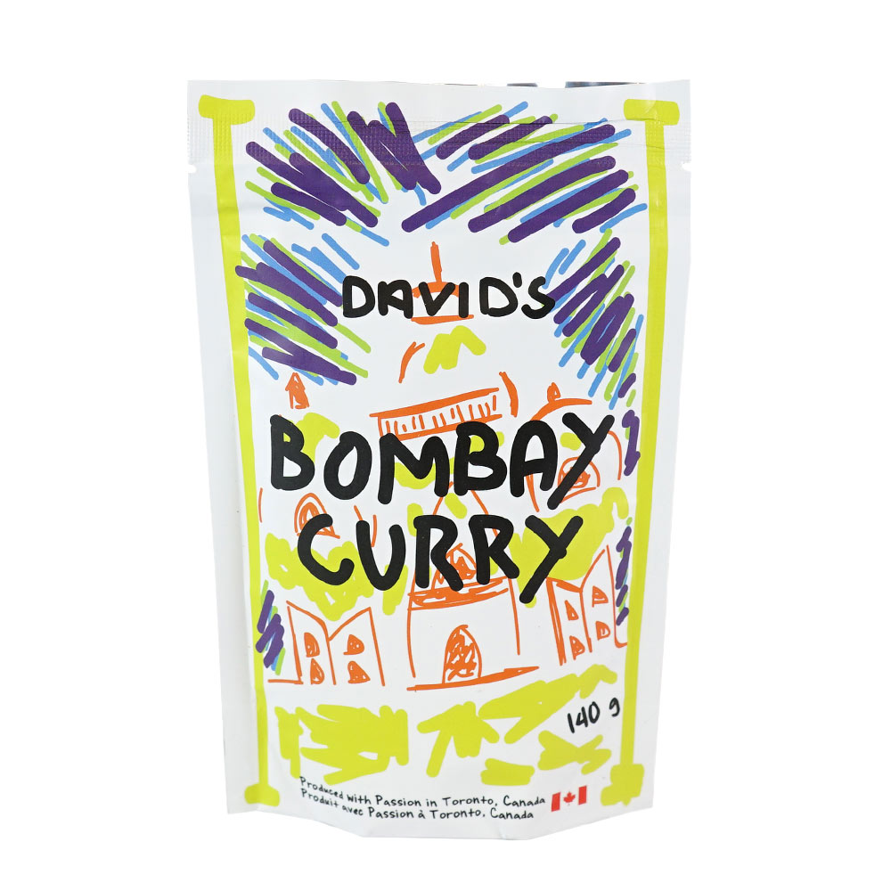 [187036] Bombay Curry Plastic Bottle 140 g Davids