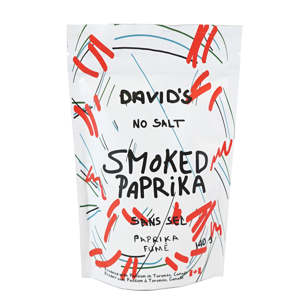 [187032] Smoked Paprika Plastic Bottle 140 g Davids